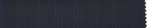 【Ib_0153】濃紺柄+1.2cm巾ブルー・織り交互ストライプ