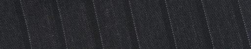 【Bs_0s042】チャコールグレー+1.3cm巾織り・ドットストライプ
