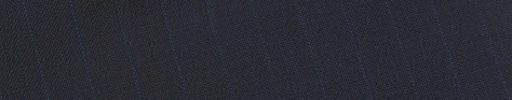 【Sb_0s37】ダークネイビー+9ミリ巾ブルー・織り交互ストライプ