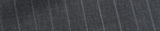 【Sy_9s31】ミディアムグレー+1.1cm巾ストライプ