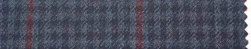 【Hs_pe25】紺・ブルーシェパード+6×4cm赤プレイド