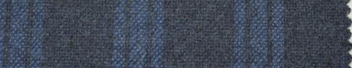 【Hs_pe34】ブルーグレー+5×4cm水色プレイド