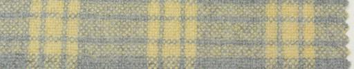 【Hs_pe37】ライトグレー+5×4cmライトイエロープレイド