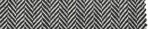【Hs_pe40】白黒1.3cm巾ヘリンボーン