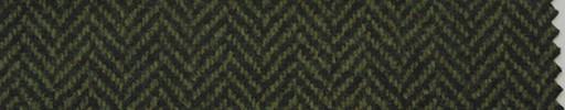 【Hs_pe49】グリーン黒1.3cm巾ヘリンボーン