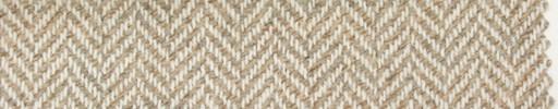 【Hs_pe50】オフホワイト・ベージュ1.3cm巾ヘリンボーン