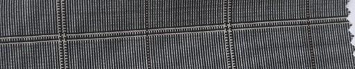 【Ca_6s027】グレー柄+6×5cmブラウン・イエローオーバープレイド