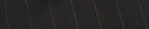 【Ca_02s033】ブラウンピンチェック+1.8cm巾ストライプ