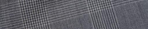 【Ca_02s080】グレー7×5.5cmグレンチェック