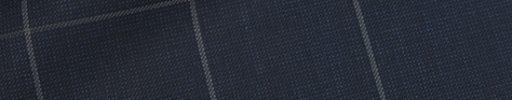 【Ca_02s082】ネイビーピンチェック+5×3.8cmウィンドウペーン