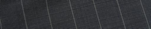 【Ca_02s084】ダークグレー白ピンチェック+1.9cm巾ストライプ