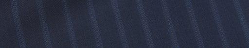 【Ca_02s087】ネイビーヘリンボーン+1.2cm巾ブルー・白ドットストライプ