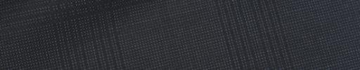 【Ca_02s088】ブラック+7×5.5cm織りチェック