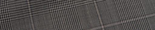 【Ca_11s002】ブラウングレンチェック+6.5×5cmウィンドウペーン