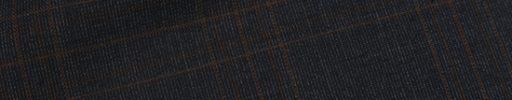 【Ca_11s003】チャコールグレー+7.5×5cmブラウンチェック