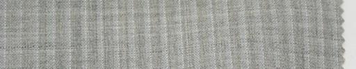【Du_s4010】ライトグレー杢柄+4ミリ巾ストライプ
