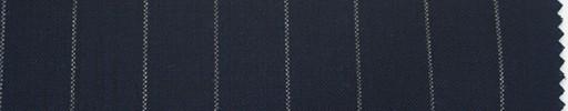 【Du_s4013】濃紺地+1.3cm巾白ストライプ