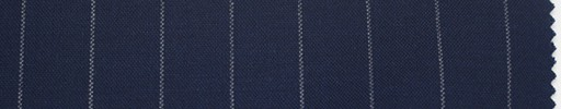【Du_s4014】紺地+1.3cm巾白ストライプ