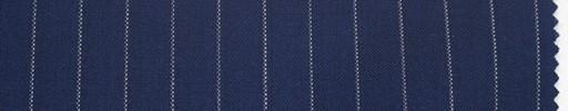 【Du_s4015】紺地+9ミリ巾白ストライプ