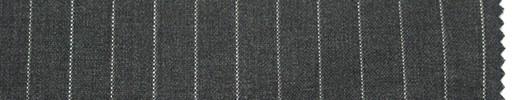 【Du_s4016】ミディアムグレー地+9ミリ巾白ストライプ