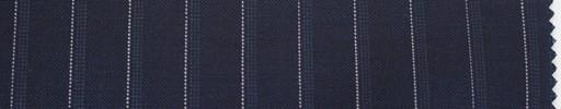 【Du_s4026】濃紺地+1cm巾白・ドットストライプ