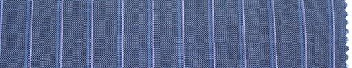 【Du_s4030】ライトブルー地+1cm巾ピンク・水色ストライプ