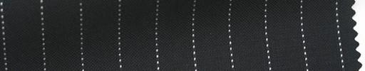 【Ib_5s217】黒地+9ミリ巾白ドットストライプ
