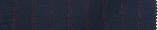 【An_s02】ネイビー+1.5cm巾エンジストライプ