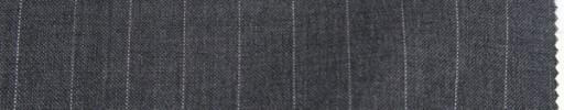 【Anj_9s04】ミディアムグレー+1.2cm巾ストライプ