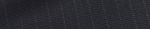 【Sb_0s19】ダークネイビー+1cm巾白・織り交互ストライプ