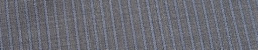 【Ire_0s56】ライトグレー+4ミリ巾水色ストライプ