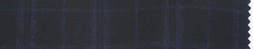 【Re_5s004】濃紺地+3.5×3cmブルー・オーバーチェック