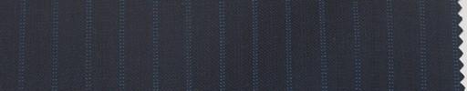 【Re_6s023】濃紺地+7ミリ巾ブルードット・織り交互ストライプ