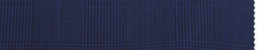 【Re_ss04】ブルーパープルグレンチェック+5×4.5cmパープルウィンドウペーン
