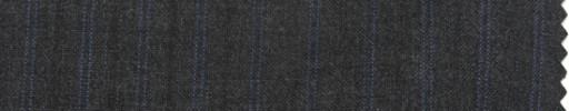 【P_7s29】チャコールグレー地+1.2cm巾パープル・織り交互ストライプ