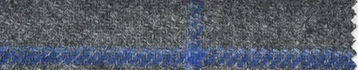 【Hs_st13】グレー地+ブルー系チェック