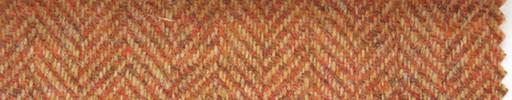 【Hs_st21】オレンジ1.8cm巾ヘリンボーン
