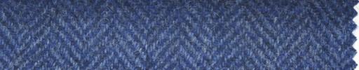 【Hs_st29】ブルー1.8cm巾ヘリンボーン