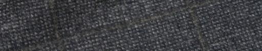 【Ca_92w017】グレーピンチェック+7.5×6cmライトブラウンペーン