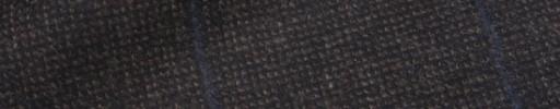 【Ca_92w018】ダークブラウンピンチェック+7.5×6cmネイビーペーン