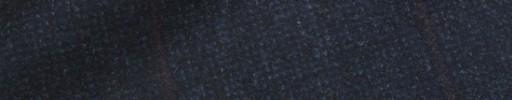 【Ca_92w019】ネイビーピンチェック+7.5×6cmブラウンペーン