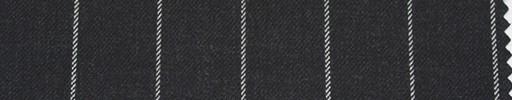 【Ha_re009】チャコールグレー地+2cm巾ストライプ