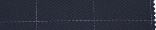 【Ha_re022】濃紺地+7×4.5cmパープル・ウィンドウペーン