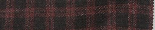 【Loz_8w03】エンジ+赤2cmブロックチェック