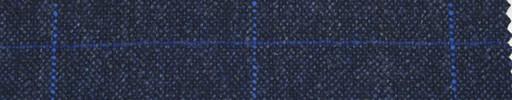 【Ph_4w051】紺地+7×5cm水色×青プレイド