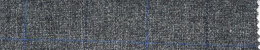 【Ph_4w055】ミディアムグレー地+紺×青プレイド