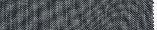 【Sc_4w102】ミディアムグレーヘリンボーン柄+1cm巾パープルストライプ