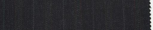 【Sc_4w107】ダークグレーヘリンボーン柄+2cm巾茶・織り交互ストライプ