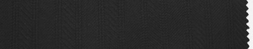【Sc_4w108】黒柄+1cm巾織りストライプ