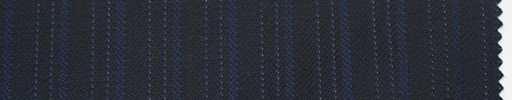 【Sc_4w110】濃紺柄+1.1cm巾ネイビー・織りストライプ